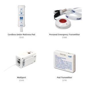 Under Mattress Pad + PET + Multiport + Pad Transmitters