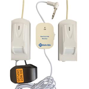 Safe-Life A-BEDEXIT-PIR-05 Bed Exit Sensor Beam – PIR Technology – Double